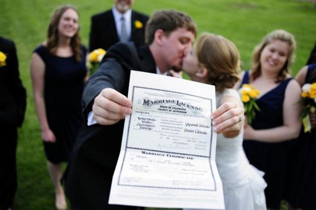 Cute Wedding Photo Idea #2067028