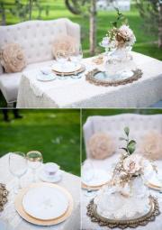 shabby wedding - chic