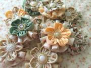 shabby chic handmade flowers