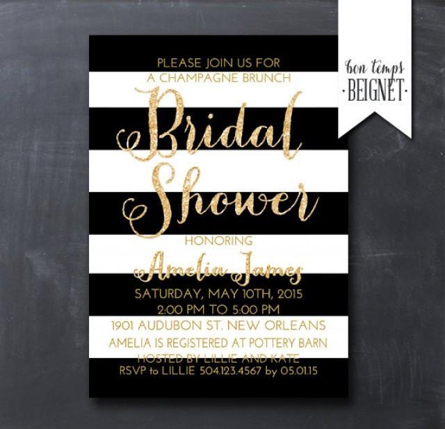 Honeymoon Shower Invitations