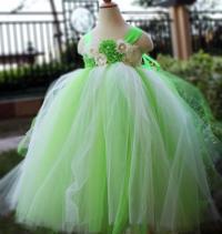 Lime Green Flower Girl Dress Party Dresses Tutu Dress Baby