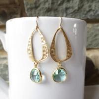 Sparkle Dangle Earrings, Drop Earrings, Wedding Jewelry ...