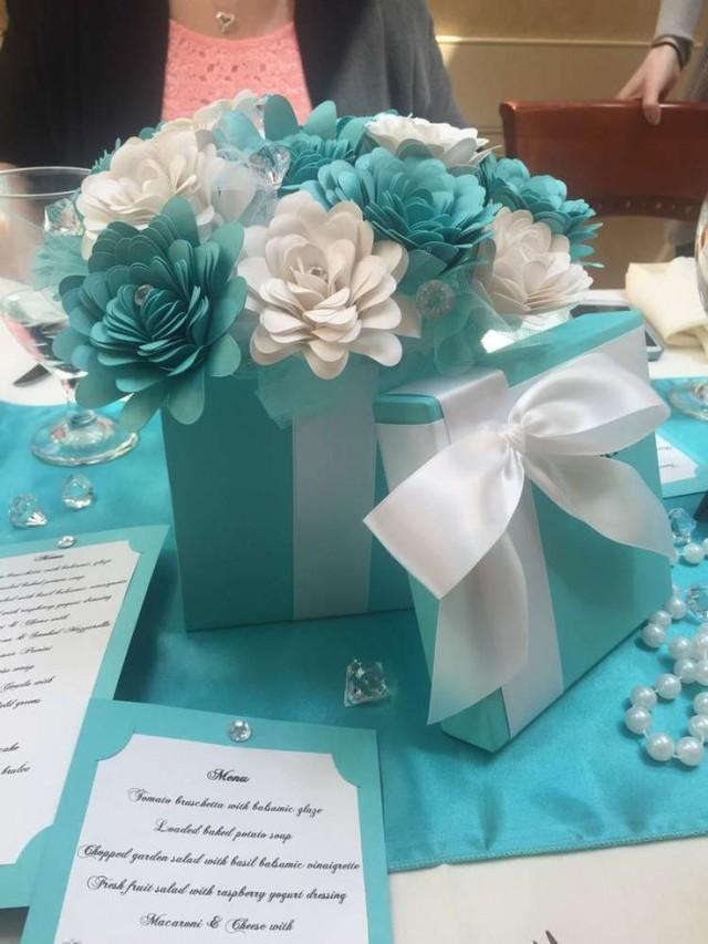 Tiffany Themed BridalWedding Shower Party Ideas 2356361