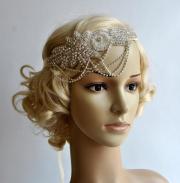 glamour rhinestone flapper gatsby