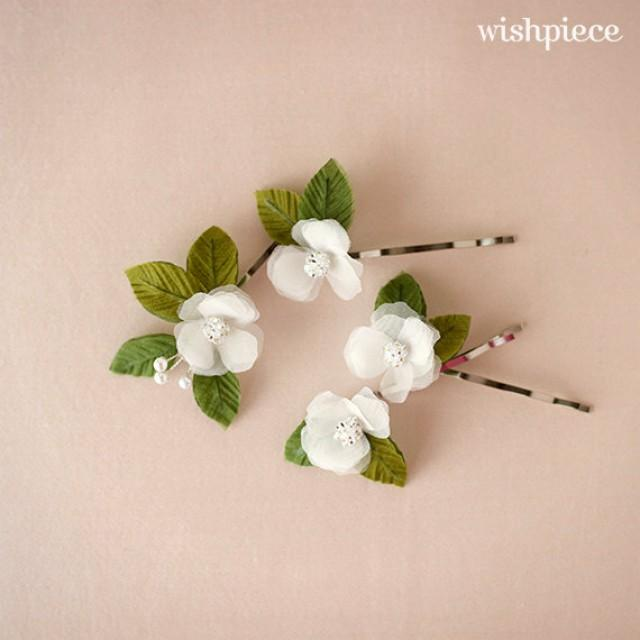Small Hair Flowers  Floral Hair Accessories  Wedding