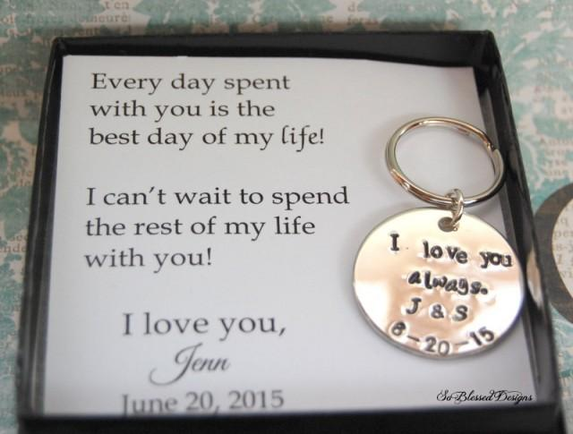 GROOM Gift From Bride, Wedding Day Gift To Groom, From