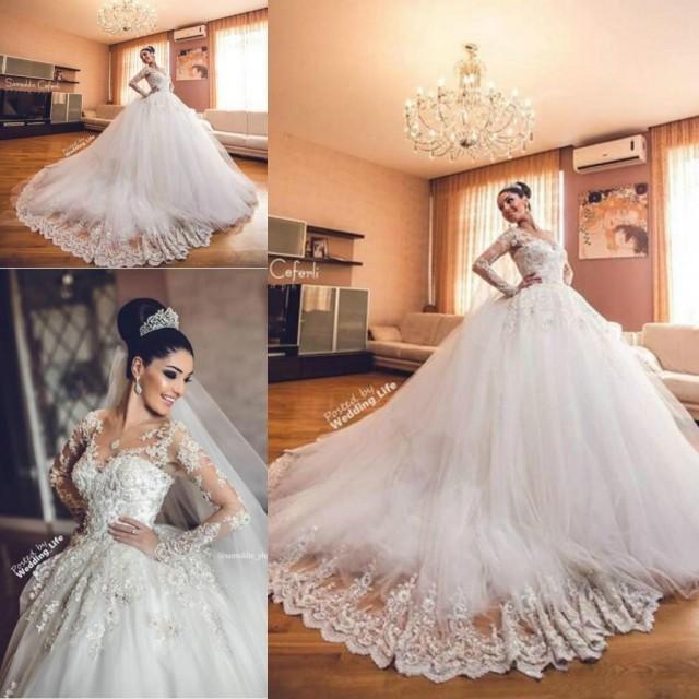 Steven Khalil Lace Wedding Dress