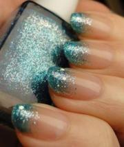 nail - diy easy glitter arts