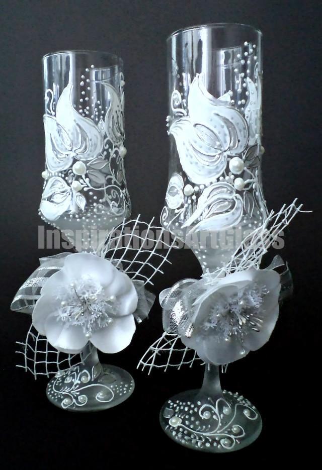 Wedding Glasses Champagne Toasting Glasses Champagne