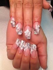 wedding nails nailsbyhanay