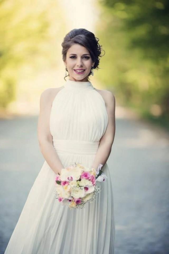 Simple Wedding Dress Classy Bridal Gown Casual Wedding