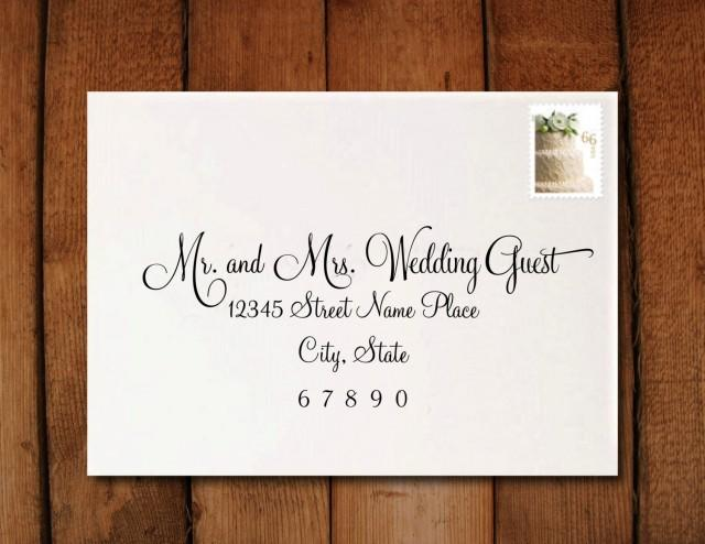 How To Address A Wedding Invitation Images Of Home Design