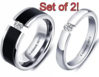 Promise Ring Set Promise Rings For Couples, His And Her ...