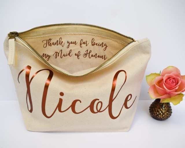 Personalised Bridesmaid Gift Make