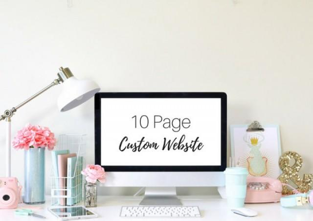 Custom 10 Page Wedding Website