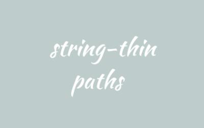 String-thin paths