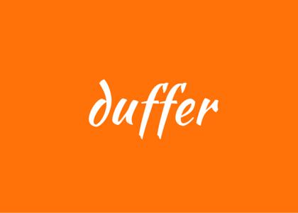 words - duffer