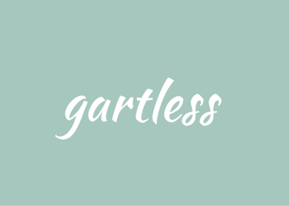 words - gartless