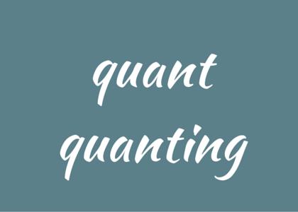 words - quant quanting