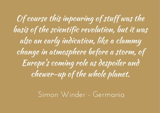 Quotation - Simon Winder - Germania
