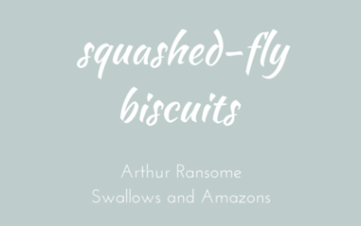 Squashed-fly biscuit