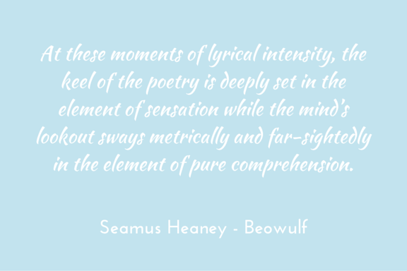 Heaney, Beowulf - introduction