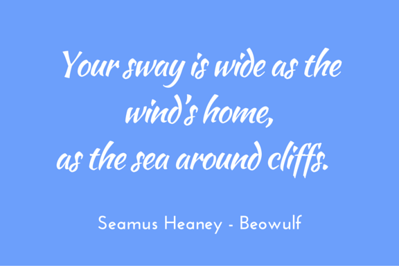 Heaney Beowulf wide sea wind