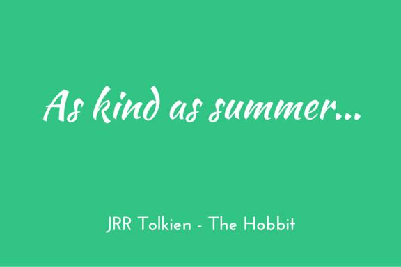 Tolkien Hobbit kindness quote
