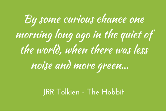 Hobbit - Tolkien - by some curious chance