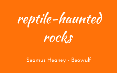 Reptile-haunted rocks