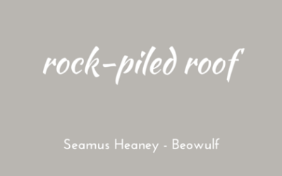 Rock-piled roof