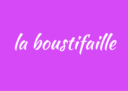 French word boustifaille