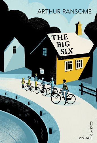 Arthur Ransome, Big Six, Vintage Classics book cover illustration by Pietari Posti