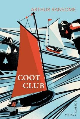 Arthur Ransome Coot Club, cover illustration by Pietari Posti for Vintage Classics