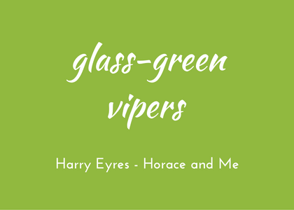 Harry Eyres, Horace and Me