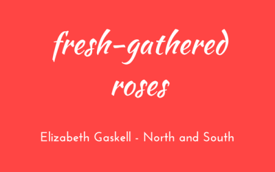 Fresh-gathered roses