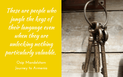 Jangling the keys of your language