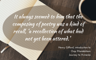 Poetry as recall