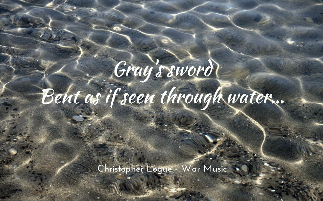 Christopher Logue - Homer - War Music - photo credit: websi, pixabay.com