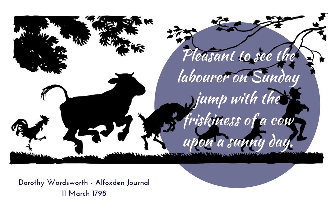 Dorothy Wordsworth - Alfoxden Journal