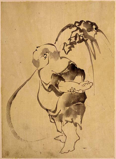 Image: Budai Heshang (Cloth-bag Monk) By Hokusai: https://commons.wikimedia.org/w/index.php?curid=630807