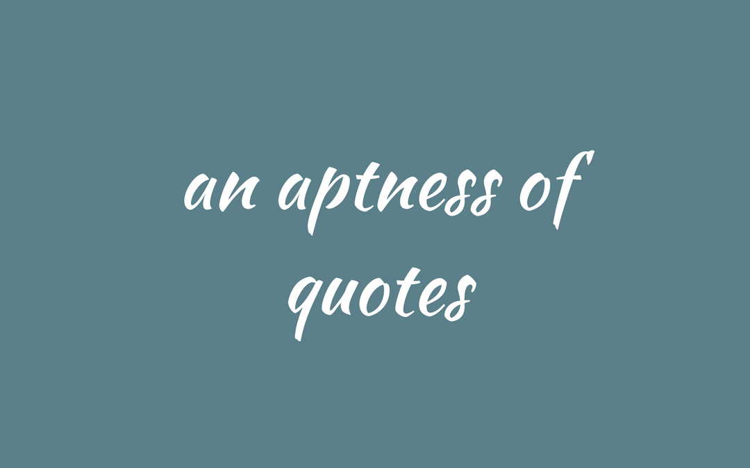 collective nouns - quotes & quotations