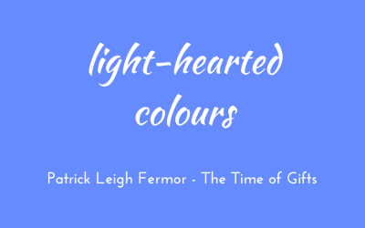 Light-hearted colours