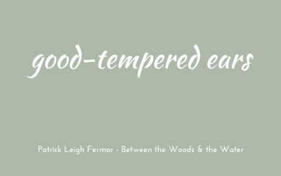 Good-tempered ears
