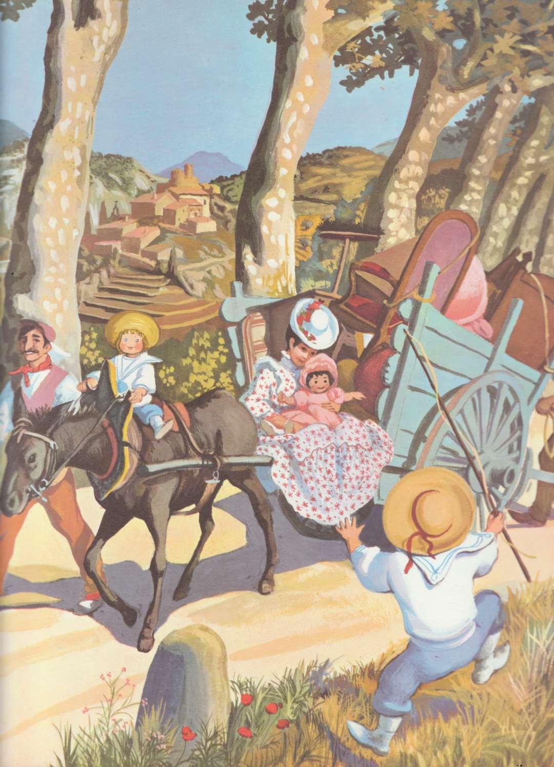 Image - Souvenirs d'Enfance de Marcel Pagnol, Marcel Pagnol, illus. Suzanne Ballivet (1962)