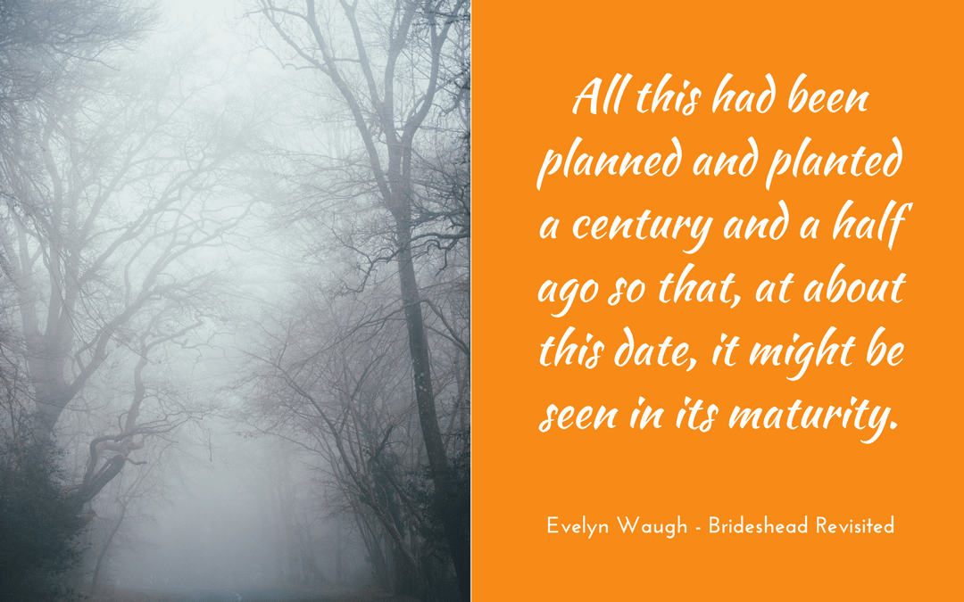 Evelyn Waugh - Brideshead Revisited - quotation
