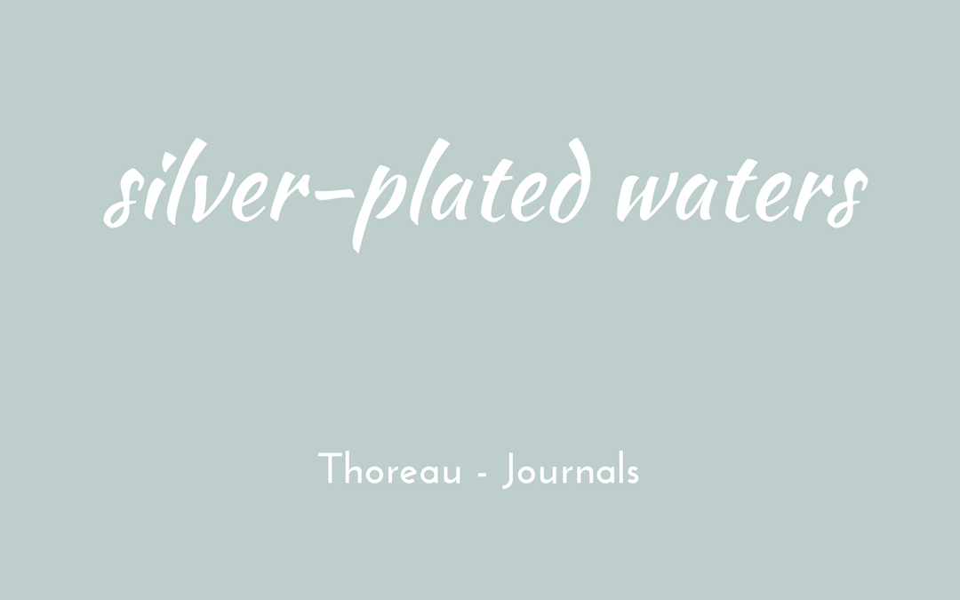 Thoreau - Journal - triologism