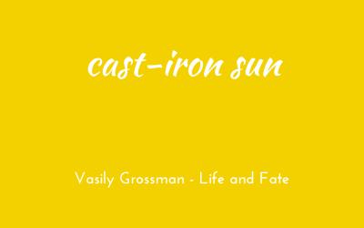 Cast-iron sun