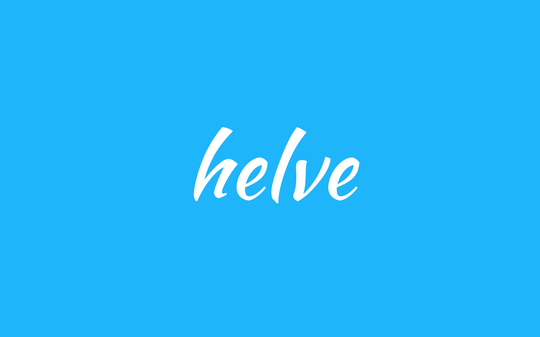 words - helve