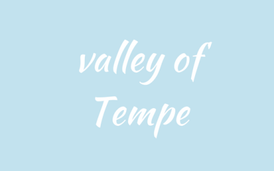 The valley of Tempe